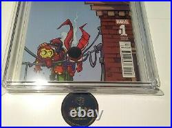 All-New All-Different Avengers Annual 1 CGC 9.8 Scottie Young Variant & Label