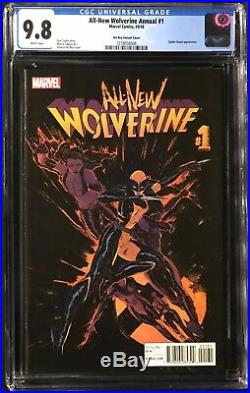 All-New Wolverine Annual #1 CGC 9.8 Vanesa Del Rey Variant Cover