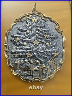 Buccellati 2014 Annual Sterling Limited Edition Ornament Christmas Tree