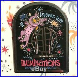Disney Epcot Farewell to Illuminations Annual Passholders Limited Edition Pin