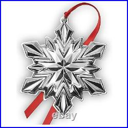 Gorham Annual 2020 Sterling Silver Snowflake Ornament 51st. Collectors Edition