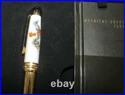 Montblanc Annual Edition Fountain Pen 2004/iii Mythical Creatures Flying Dragon