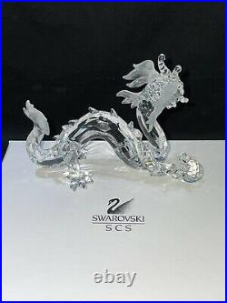 NEW IN BOX Swarovski Crystal Annual Edition 1997 Fabulous Creatures The Dragon