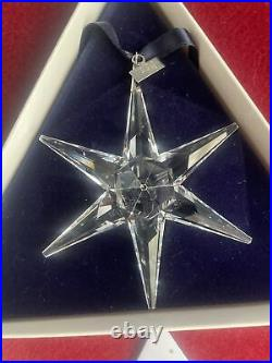 Swarovski Crystal Annual Edition 1993 Christmas Ornament Mint In Box Complete