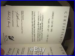 Swarovski SCS Annual Edition 1992 Care for Me The Whales Retired NIB with COA