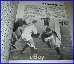 The New Zealand Rugby Annual 1971 1st Edition, Hardback Book, R. J. Howitt